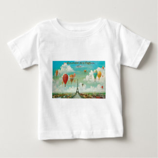 Ballooning Over Paris Baby T-Shirt