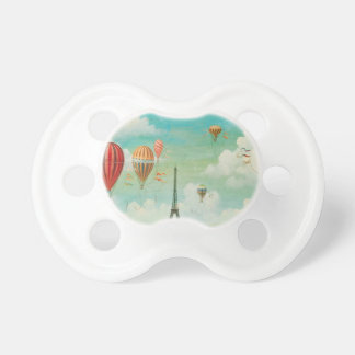 Ballooning Over Paris Pacifier