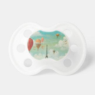Ballooning Over Paris BooginHead Pacifier
