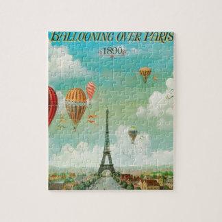 Ballooning Over Paris Puzzle