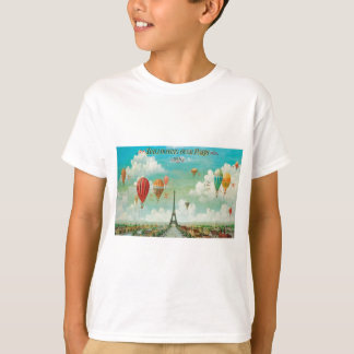 Ballooning Over Paris T-Shirt