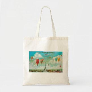 Ballooning Over Paris Tote Bag