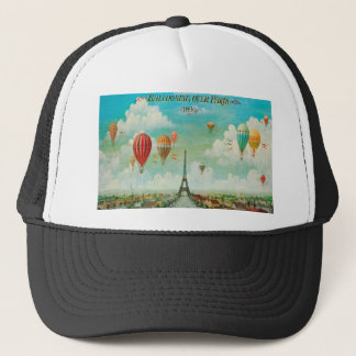 Ballooning Over Paris Trucker Hat