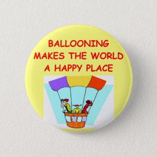 ballooning pinback button