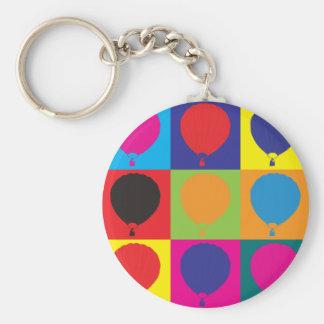 Ballooning Pop Art Keychain