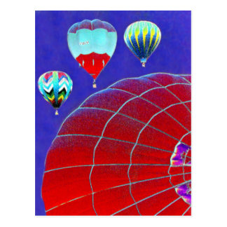 Ballooning Postcard