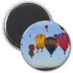 Ballooning Refrigerator Magnets