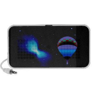 Ballooning with Stars Portable Speaker