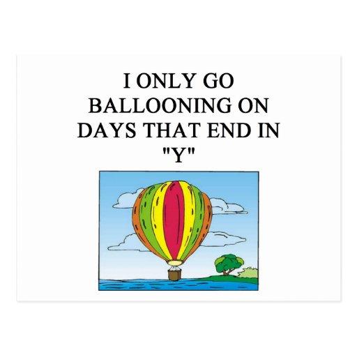 balloonist de aerostación postal