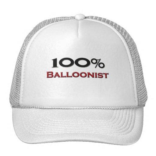 Balloonist del 100 por ciento gorros bordados