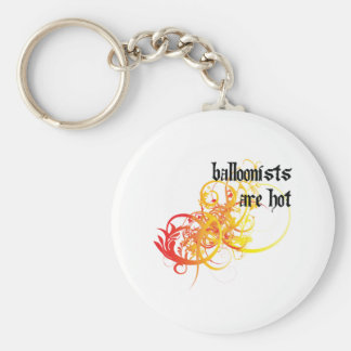 Balloonists Are Hot Basic Round Button Keychain