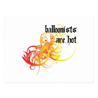 Balloonists Are Hot Postcard