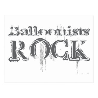 Balloonists Rock Postcard