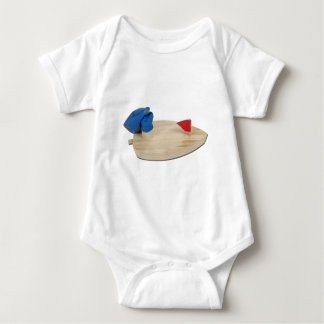 BalloonPoweredBoat073011 Baby Bodysuit