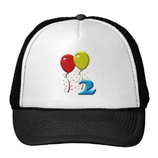 balloons 02 years trucker hat