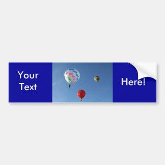 Balloons 3 bumper sticker
