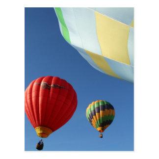 Balloons 3 postcard