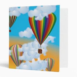 Balloons 3 Ring Binder