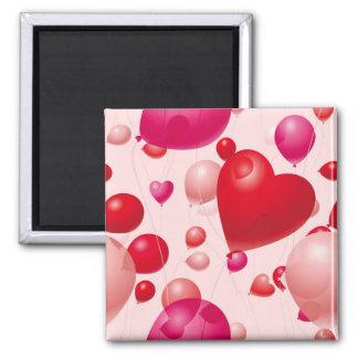 Balloons (4) fridge magnet