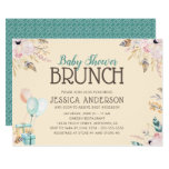 Balloons and Gifts | Baby Shower Brunch Invitation