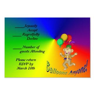 Balloons Anyone Card