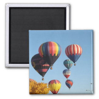 Balloons Arising 2 Inch Square Magnet