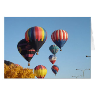 Balloons Arising Card