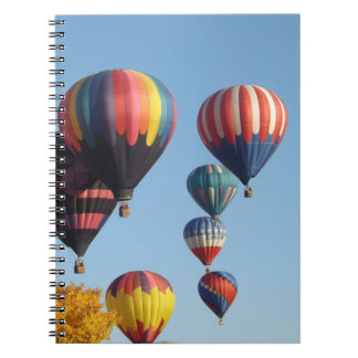 Balloons Arising Notebook