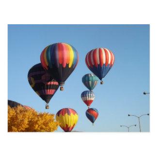 Balloons Arising Postcard