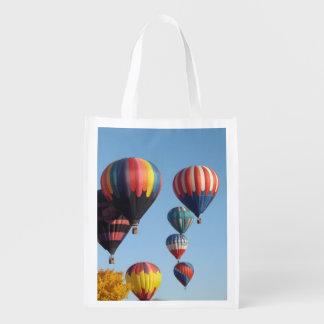 Balloons Arising Reusable Grocery Bag