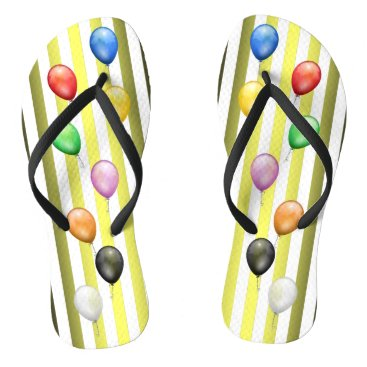 Beach Themed Balloons ~ Beach Party Time ~ Music ~Sea & Sand~ Flip Flops