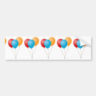 Balloons Bumper Sticker