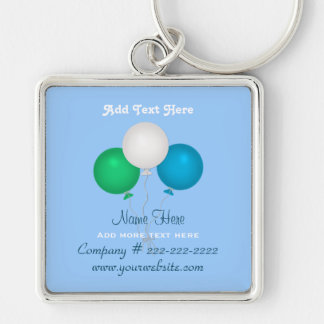 Balloons Business Keychain