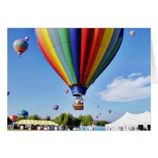 Balloons Card