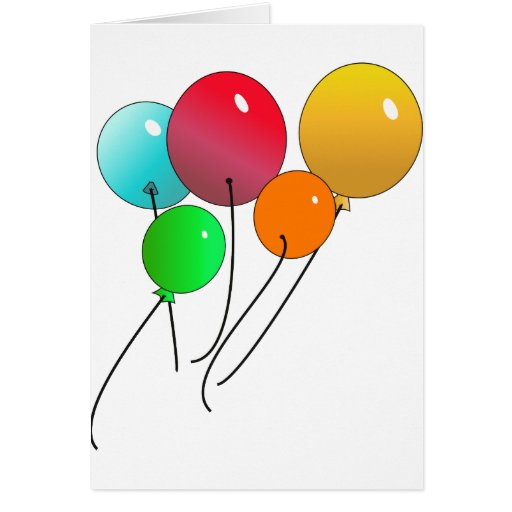 Balloons Cards
