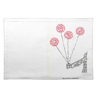 BALLOONS CLOTH PLACEMAT