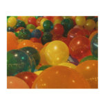 Balloons Colorful Design Wood Prints
