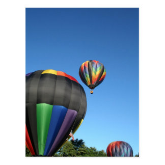 Balloons Colorful Launch! Postcard