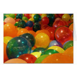 Balloons Colorful Party Design Card