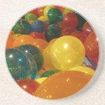 Balloons Colorful Party Design Coaster