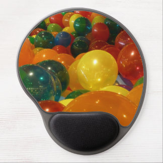 Balloons Colorful Party Design Gel Mouse Pad