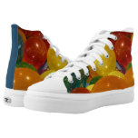 Balloons Colorful Party Design High-Top Sneakers