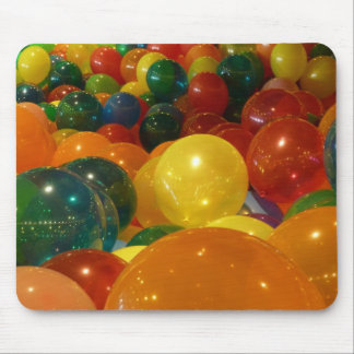 Balloons Colorful Party Design Mouse Pad