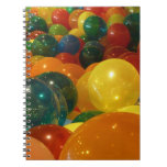 Balloons Colorful Party Design Notebook