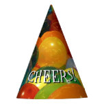 Balloons Colorful Party Design Party Hat