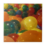 Balloons Colorful Party Design Tile