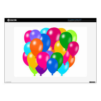 """Balloons Composition 15"""" Laptop Decal"""