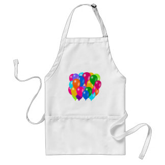 Balloons Composition Adult Apron