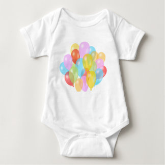 Balloons Composition Baby Bodysuit