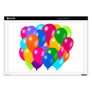 """Balloons Composition Decal For 17"""" Laptop"""